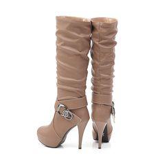 Platform Knee High Boots