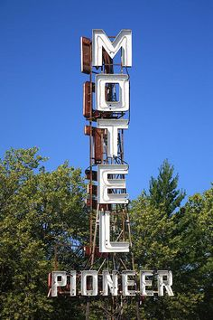 """Route 66 - Pioneer Motel, Springfield, Illinois. """"The Fine Art Photography of Frank Romeo."""""""