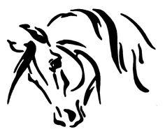 HORSE HEAD HORSE STICKER DECAL BRAND NEW FOR CAR, FLOAT, TACK BOX, LAPTOP #H260 #Vinylhorsedecalsticker