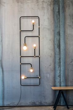 32 Inspirations of Decorative Wall Lamps - There are many types of lamp for a home. The lamp function is not only for the lighting but also for the decoration. The lamp as the decoration is usually located in certain… Continue Reading → Industrial House, Industrial Interiors, Industrial Lighting, Interior Lighting, Home Lighting, Industrial Design, Lighting Design, Industrial Furniture, Industrial Decorating