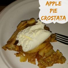 Apple Pie Crostata recipe | Plucky's Second Thought