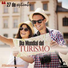 27 de septiembre – Día Mundial del Turismo #DíasInternacionales