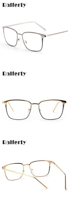 5b45d29fb3 Square glasses frame women men metal eyeglasses optical frames eyewear  clear lens gold silver spectacles 3170  alloy  women  solid  frames  eyewear    ...