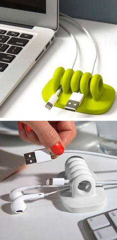 Desktop Cord Organizer //