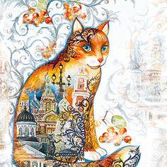 Saint Petersburg Cat