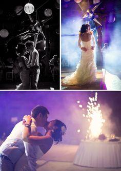 First dance, pinata and fireworks! Azul Sensatori, Mexico #MemorableMoments #DestinationWedding