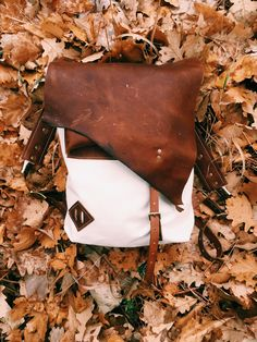 Handmade Leather / Canvas Backpack, Rustic, Antique Brass, Canvas Backpack, Handmade Leather, Leather Working, Antique Brass, Rustic, Antiques, Day, Instagram, Country Primitive
