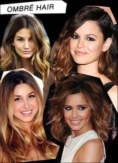 ombre hair......LOVE