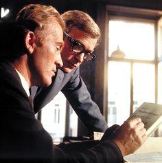 Psychoneuroses.Gordon Jackson and Michael Caine, 1965.