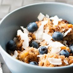 Morning Glory Baked Oatmeal combes the chewy texture of carrots with the wonderful flavors of apple, raisins, coconut, walnuts, and spices.