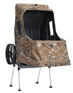 Ameristep Chair Blind Glider Nursery Dove And Duck Outdoors Hunting Cartblinds Wheeled Blinds Combine An Affordable Lightweight Camouflaged