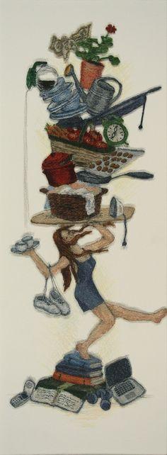 It's a balancing act - Cindy Hickok