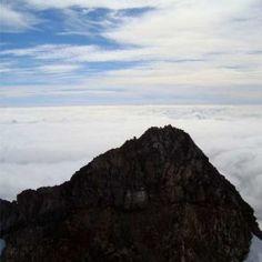 Top of Mount Taranak