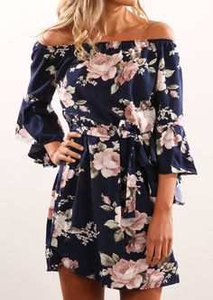 "glamluxe-gala: ""Get this floral dress here >> """