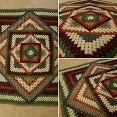 Kaleidoscope Granny Square - Tutorial