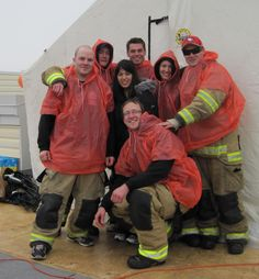 Fort McMurray Fire Fighters spent 100 hours on the Rooftop Campout for muscular dystrophy