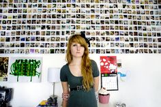 """A Girl and Her Room"""" is a photography project by Rania Matar, a Lebanese-American photographer who has traveled the world to make pictures of girls rooms between 12 and 20 years to mark the differences but also similarities Girl Room, My Room, Inner World, Bedroom Pictures, Photography Projects, Portrait Photography, Inspiration Wall, Humble Abode, Cool Photos"""