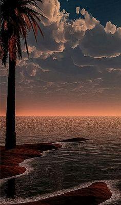 take me back to paradise Beautiful Photos Of Nature, Beautiful Sunset, Nature Photos, Amazing Nature, Beautiful Beaches, Beautiful Landscapes, Ocean Scenes, Beach Scenes, Tropical Beaches