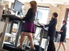 Can You Move It And Work It On A Treadmill Desk? Employees at at Salo, a Minneapolis-based financial consulting firm, walk while working on treadmill desks. The firm offers treadmill desks for employee use and encourages an active workplace environment. Treadmill Desk, Walking Treadmill, Good Treadmills, Precision Nutrition, Health Trends, Get Moving, Muscle Pain, Workplace, At Home Workouts