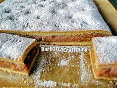 Prajitura cu mere de post Sweet Recipes, Sweets, Bread, Cooking, Ethnic Recipes, Christmas, Food, Cakes, Vegans