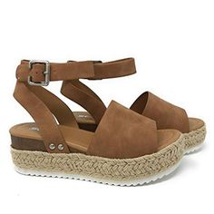 1ca5a8f74abe Buy Women Shoes - Sandals are featuring Flat Wedge Platform Heel  Espadrilles Sandals Open Toe Ankle