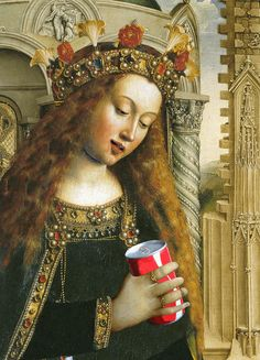 Hilarious Renaissance Art GIFs:  Hmm... could be inspiration for a fun art project!