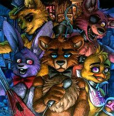 Five Nights at Freddy's / FNaF by Mizuki-T-A.deviantart.com on @DeviantArt