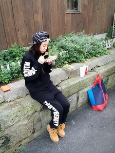 "DARA:""Why I came to Japan reason 3: Harajuku takoyaki>.<"""
