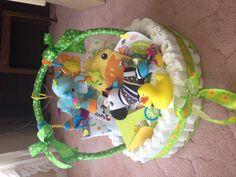 Baby Shower Diaper Basket