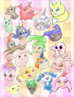 Digimon Babies!