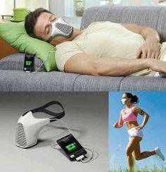 Charge your phone by breathing