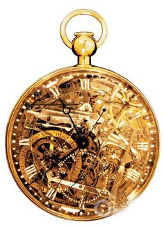 skeleton watch completely-neat pocketwatch