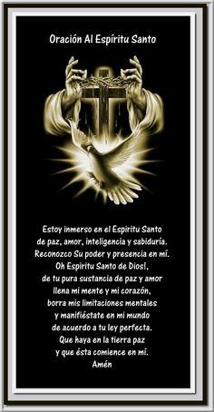 Ven Espiritu Santo.