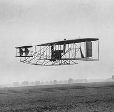 Wilbur and Orville Wright launched a century of aviation when their plane, the Wright Flyer I, took flight on December 17, 1903.