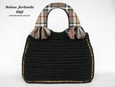 Handbags, Crochet, Fashion, Wire, Mesh, Knit Bag, Purses, Bags, Crocheting