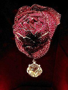 Rose brooch by JAR