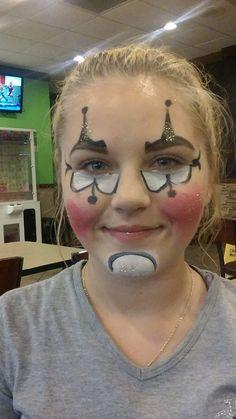 #harleyquinnfacepaint #ocalafacepaint #funfacesballooncreationsfacepaint