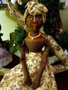 Caribbean doll