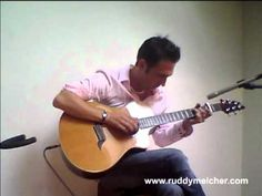 Bob Marley Redemption Song Fingerstyle (Ruddy Meicher) +Piano