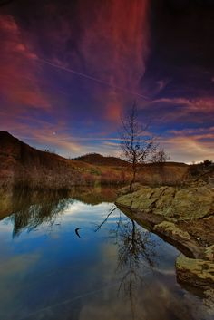 Autumn reflections. by joaocarlo   on 500px