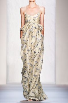 SunoFloral-print cotton-sateen maxi dress