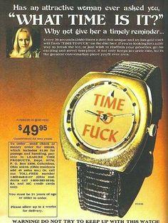 The TTF Novelty Watch - 1970s