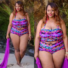 """Instagram Medien mskristine - Neuer Blog: """"My Favorite Plus Size Bademode"""" mit diesen Anzug ausmonifcplussizes und viele mehr.  Details zu TrendyCurvy.com!  #iamtrendycurvy #psblogger #plussize #plussizeswimwear #bbbg # cns2 #celebratemysize #bgki"""