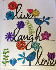 Creative Coloring Inspirations: Art Activity Pages to Relax and Enjoy!: Valentina Harper:  By Mitza McCord on Oct 09, 2015