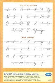 Capital Cursive Letters, Cursive Letters Worksheet, Alphabet Writing Worksheets, Cursive Handwriting Practice, Handwriting Alphabet, Handwriting Worksheets, Improve Handwriting, Teaching Cursive Writing, Kalender Design
