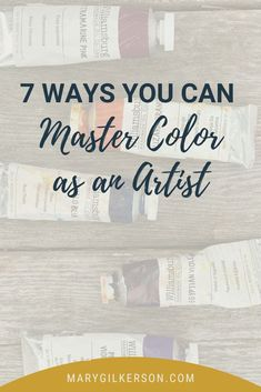 Frustrated with color theory? So are most artists, of all styles and mediums. Understanding color, hue, and value doesn't have to be difficult, though! Create vibrant palettes with these painting tips. Save this pin and click through to read more!
