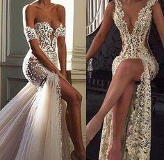 Sexy Wedding Dresses, Wedding Attire, Elegant Dresses, Sexy Dresses, Bridal Dresses, Nice Dresses, Fashion Dresses, Prom Dresses, Formal Dresses