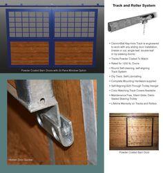 pieces of sliding door