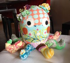 This Octopus was made for my beautiful nice - Carolina!