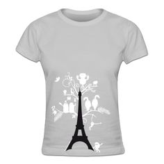 Eiffelturm Frauen T-Shirt